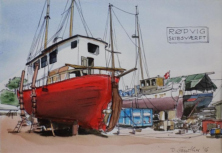 Skibsværft, Rødvig