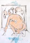 Schülerin, auf dem Sprung...in die Malerei
