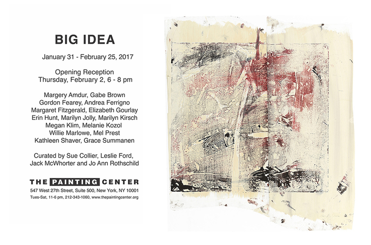 Big Idea exhibition at the Painting Center