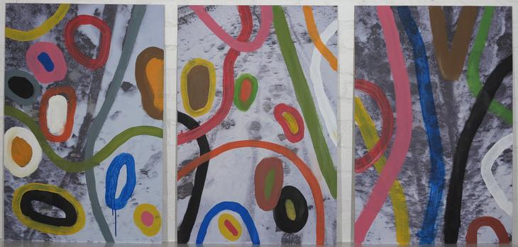 Der erste Schnee  (Triptychon)