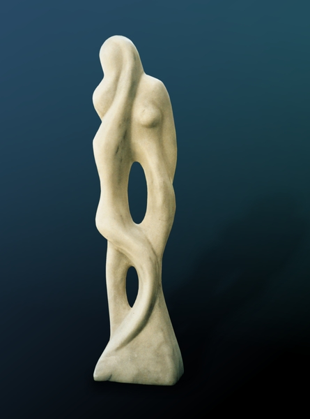 Mother And Child2 by Shimon Drory