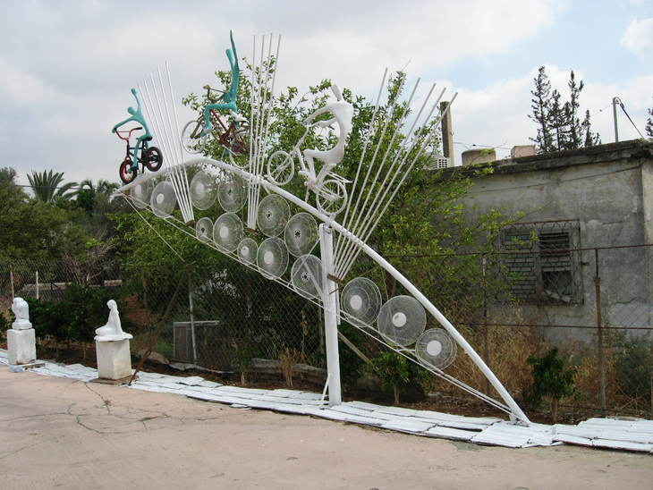 The Bridge Of Cords by Shimon Drory