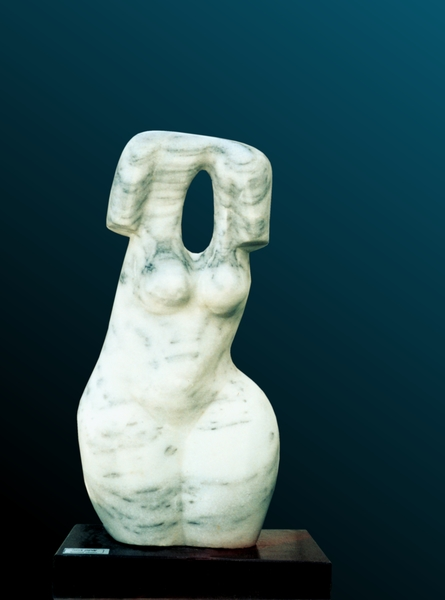 Torso Woman by Shimon Drory