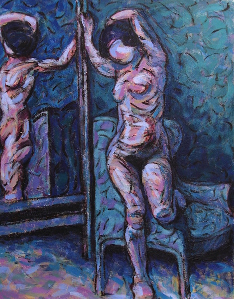 Nude (Blue and Violet)