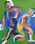 Soccer Players (Abstracted)