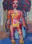 Standing Nude (Big Hair)