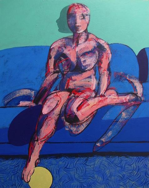 Study for Nude on Sofa