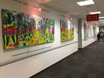 naive paintings solo exhibition intel qiryat gat israel art