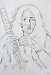 Rory Gallagher - mit Instrument