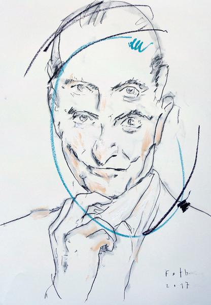 Studie zu Roy Lichtenstein