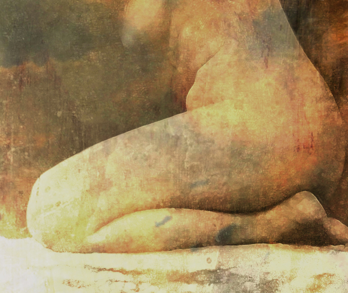 Nude study 25 - detail