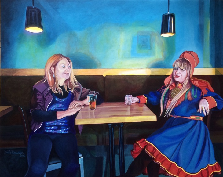 Sámi People(Marry Ailonieida Somby)