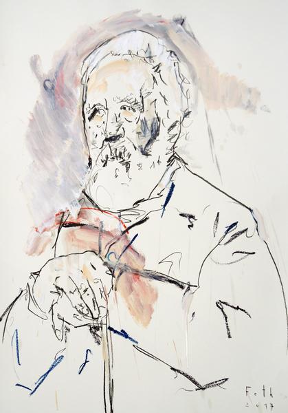 Studie zu Arnold Böcklin II