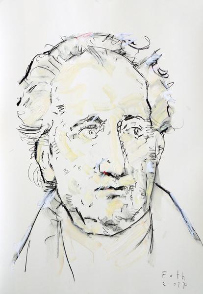 Johann Wolfgang von Goethe, feinfühlend