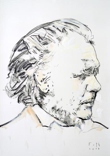 Honoré Daumier, erblindet
