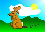 Easter Bunny Trump