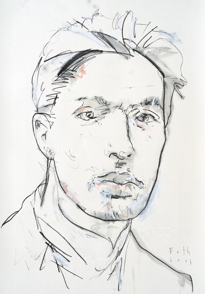 Boris Pasternak, der Künstler als junger Mann