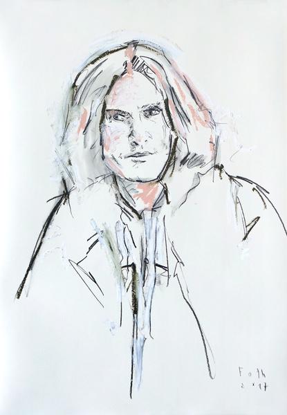Ray Davies, der Künstler als junger Mann