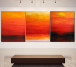 FROM THE FIRST LIGHT TO THE VERY LAST LIGHT (triptych)