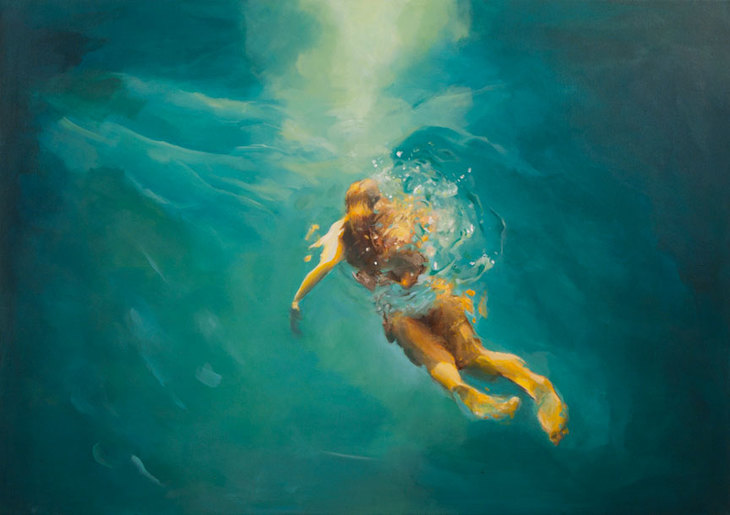 Swimming Alice