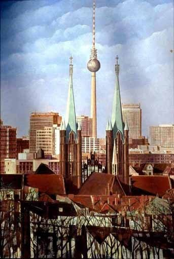 Berlin-Panorame Kreuzberg