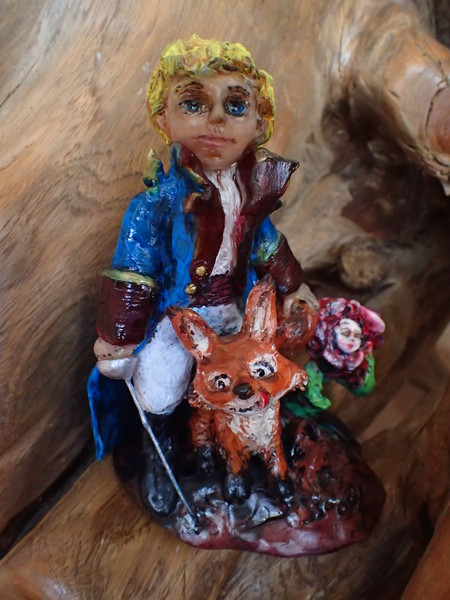 Le Petit Prince avec Renard & Rose