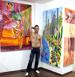 assaf henigsberg model gay art artist queer  painter artists man