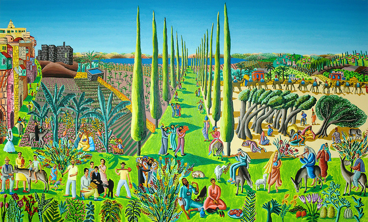 naife painter folk artist naive gallery artists  landscape art