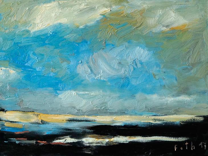Nach dem Sturm, Zandvoort