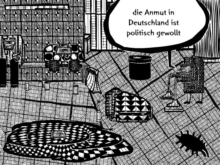 die Anmut in Deutschland