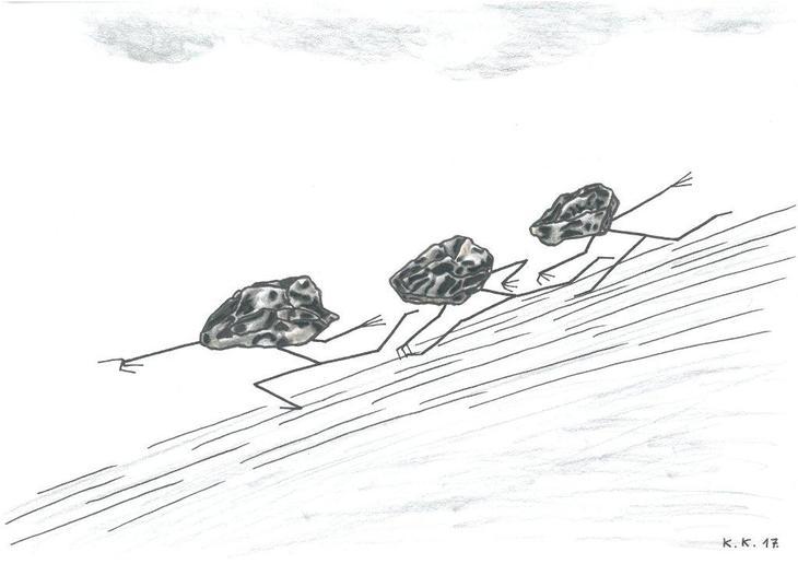 Kamenoglavci Stoneheads by stara kost