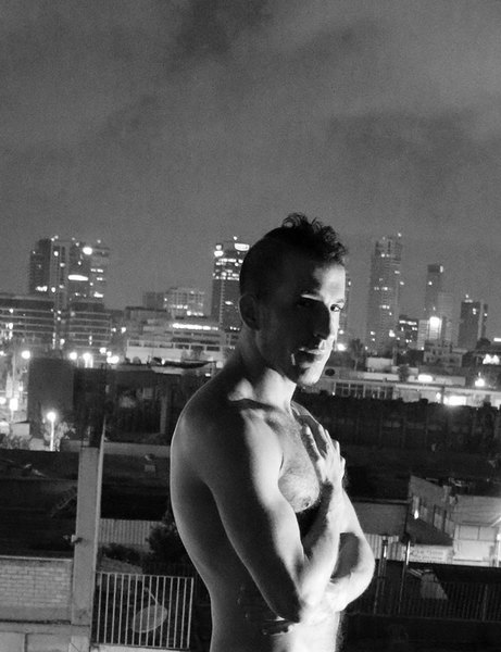 assaf henigsberg gay male nude model erotic photo man naked art