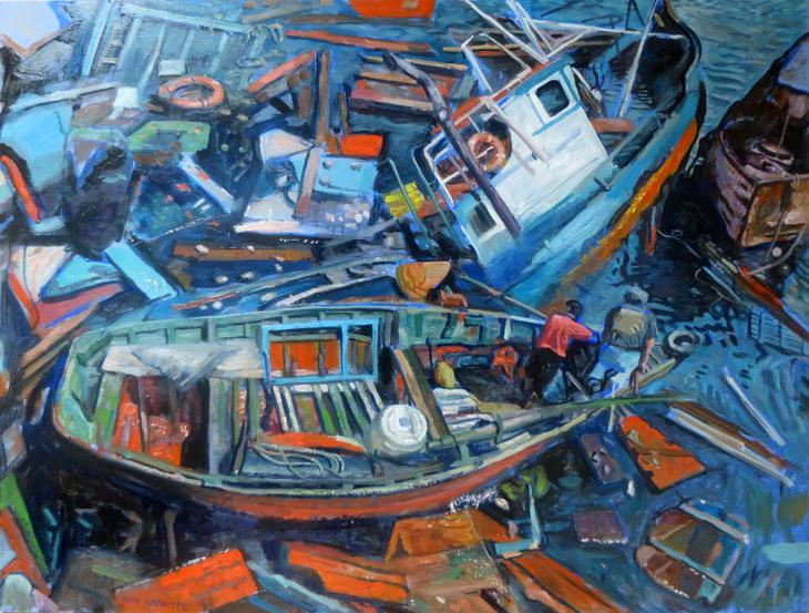 after the flood - @Wim Carrette