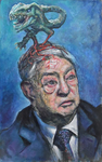 George Soros and parasite @Wim Carrette