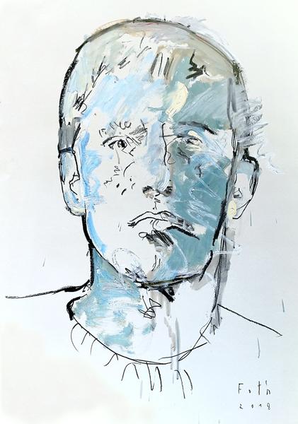 Alvin Lee, ein Porträt des Künstlers als junger Mann