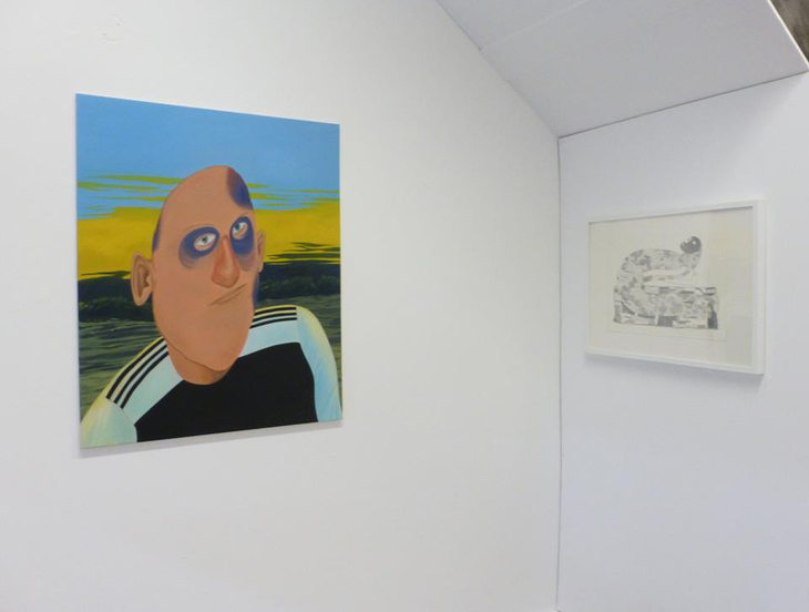 Exhibition view, City Arcadia Gallery, Coventry (UK)