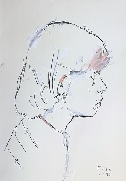 Steven Tyler, der Künstler als junger Mann I