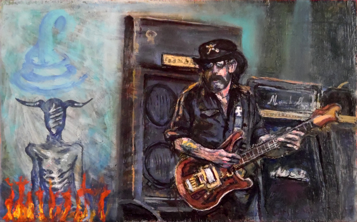 Lemmy dancing with the devil @Wim Carrette