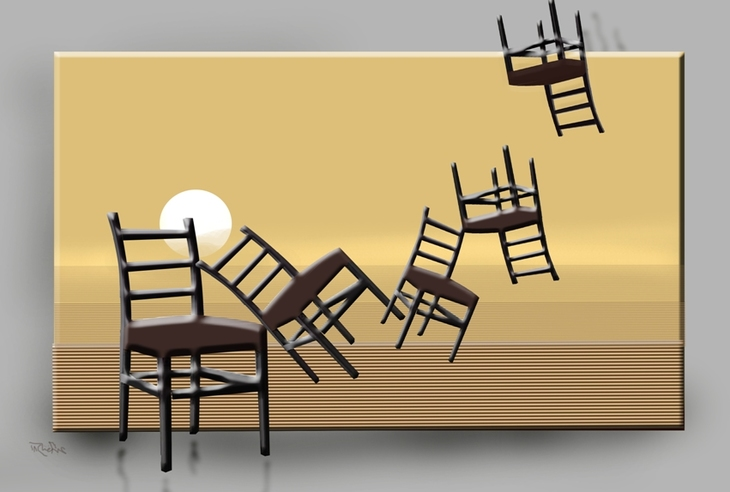 Non-musical chairs
