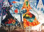 ContemporCoary Drawing by  raphael perez  Modern Israeli artist