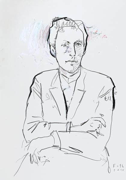 Sergei Wassiljewitsch Rachmaninow, der Künstler als junger Mann