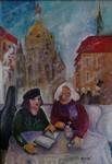 Künstlerinnen im Eiskaffe