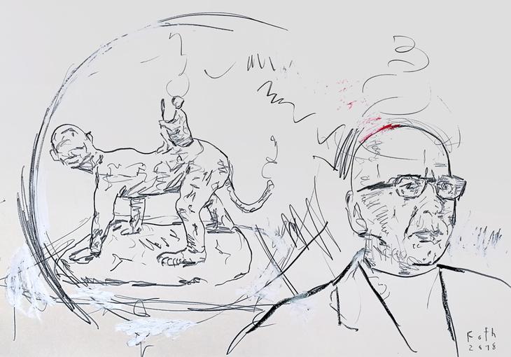 Jörg Immendorff, der Trost der Skulptur