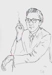 John Updike, der Künstler als junger Mann