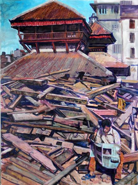 Nepal Earthquake-Haarp@Wim Carrette