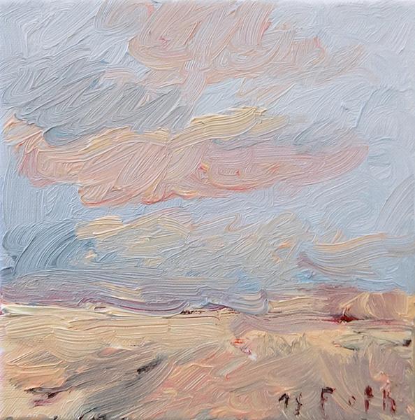 Kleine März-Landschaft I
