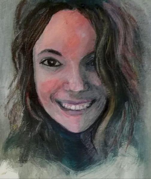 Portrait of my daughter Aviv