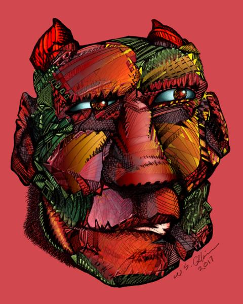 Talisman Head Red 1