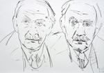 Fritz Eckhardt, der Schauspieler, zweifach