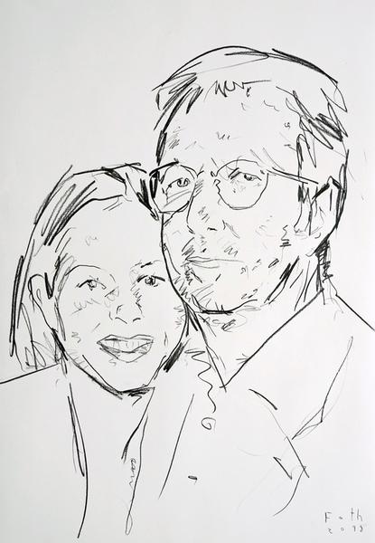 Eric Clapton mit Melia McEnery